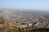 City of Alwar from the fort