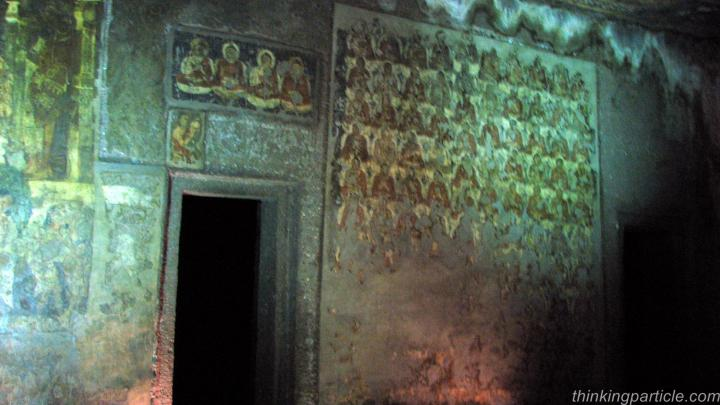 Ajanta Paintings in second cave