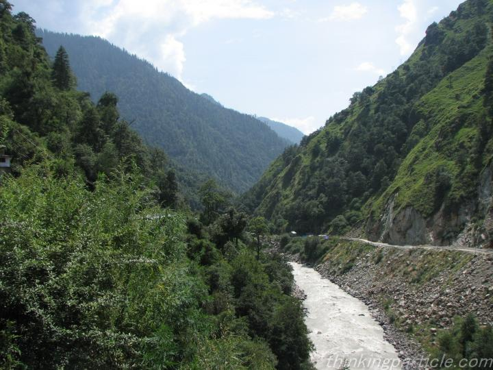 River Ganga on the way to Gaumukh from Gangotri Gaumukh Glacier
