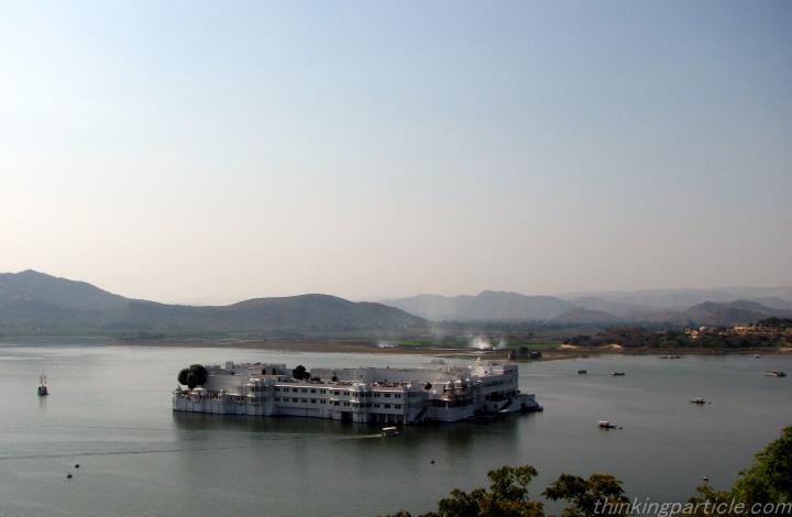 Lake Palace Udaipur : A View from City Palace Rajasthan
