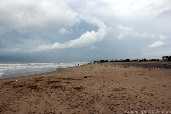 Long and Sandy beach of Orissa
