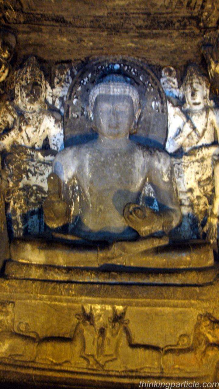 Lord Buddha image in Cave number 8