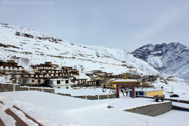 Village of Kungri during winters